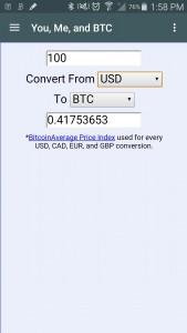 Bitcoin App 2